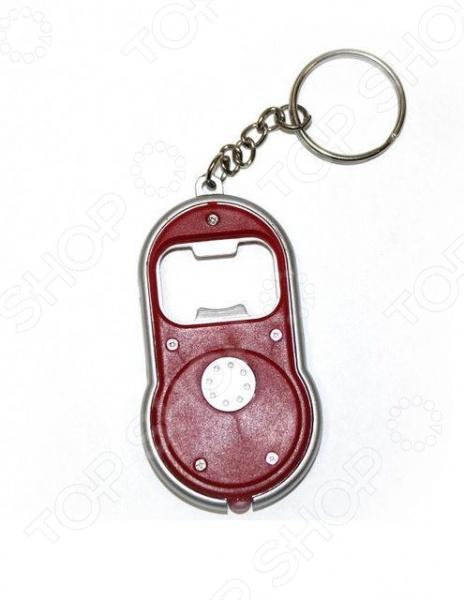 Брелок-открывалка для бутылок Bradex с фонариком брелок открывалка для бутылок с фонариком td 0285