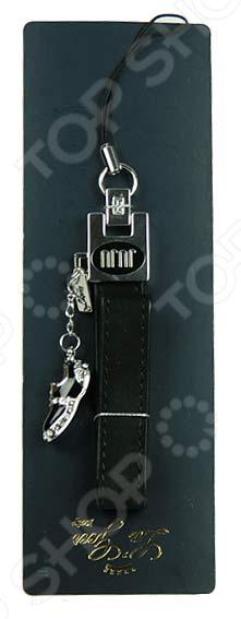 Подвеска для мобильного телефона La Geer «Туфелька» 261521Другие мобильные аксессуары<br>Подвеска для мобильного телефона La Geer Туфелька 261521 оригинальный аксессуар, который украсит ваш гаджет, связку ключей и даже сумку. Представленный в изящных серебристо-черных тонах он будет смотреться стильно и элегантно, подчеркнет ваш изысканный вкус и внимание к мелочам. Подвеска выполнена из качественных материалов кожи и сплава цинка, она будет длительное время радовать глаз и органично дополнять ваш внешний вид.<br>