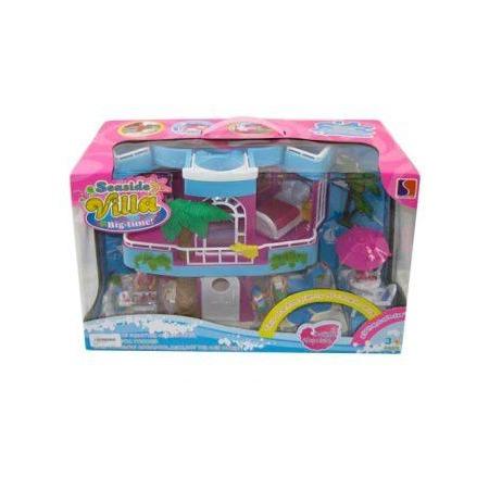 Купить Кукольный дом с аксессуарами Shantou Gepai «Вилла. Морской отдых»