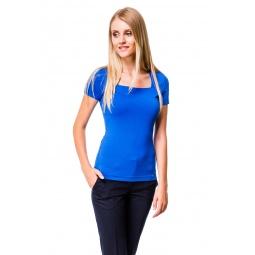 фото Футболка Mondigo 6074. Цвет: синий. Размер одежды: 44