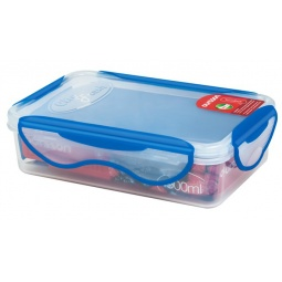 фото Контейнер для хранения продуктов Oursson Clip Fresh CP0900S. Цвет: синий