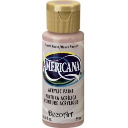 фото Краска акриловая DecoArt Премиум Americana. Цвет: розовато-лиловый