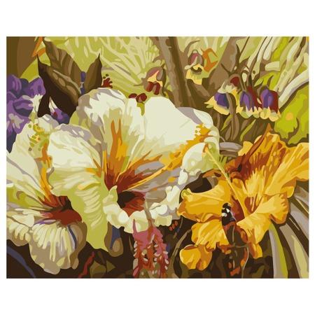 Купить Набор для росписи по холсту Росмэн «Цветочная соната»