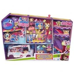 фото Набор игровой для девочек Littlest Pet Shop Таланты на лимузине