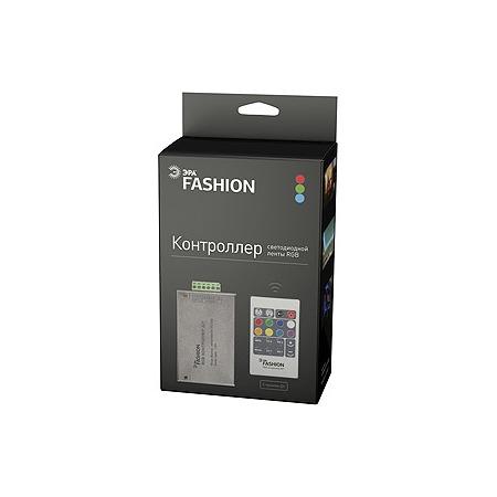 Купить Контроллер для светодиодной RGB-ленты с пультом ДУ Эра RGBcontroller-12-A01-RF