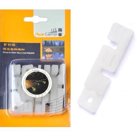 Купить Набор крючков светящихся к растяжкам AceCamp 9110