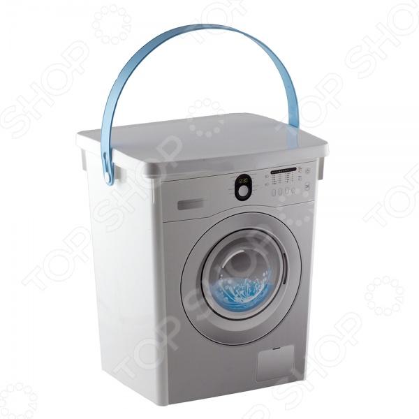 Контейнер для стирального порошка Полимербыт «Стиральная машина»