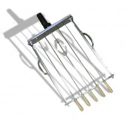 фото Гриль с автоматическим вращением шампуров Megagrill UBRS001