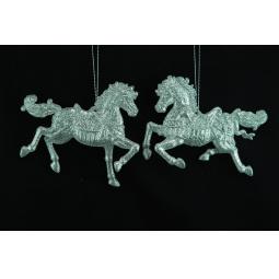 фото Елочное украшение Crystal Deco «Лошадка» 1707669. В ассортименте