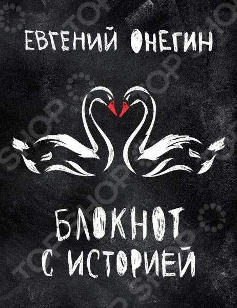 Блокноты. Тетради Эксмо 978-5-699-75716-9 Евгений Онегин. Блокнот с историей