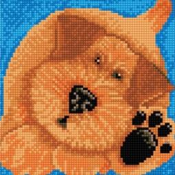 фото Набор для создания мозаичной картины Белоснежка «Дружок»