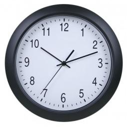 фото Часы настенные Бюрократ WALLC-R02P. Цвет: черный