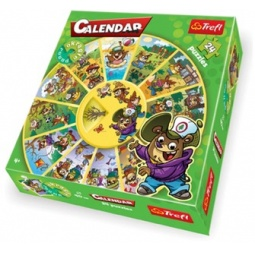 Купить Пазл 24 элемента Trefl «Календарь»