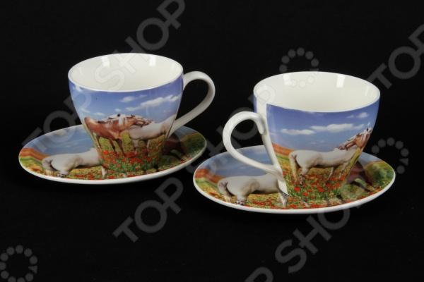 Чайная пара Rosenberg 8684