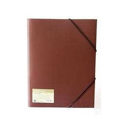 фото Папка для документов на резинке Erich Krause Eco 4. Цвет: красный