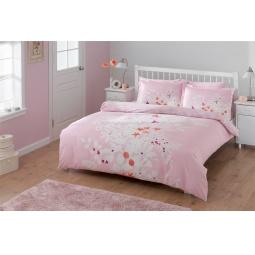 фото Комплект постельного белья TAC Flame. 1,5-спальный. Цвет: розовый