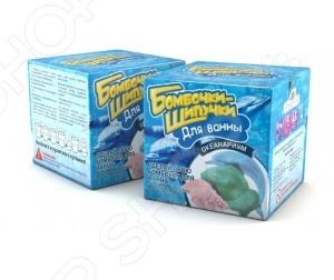 Набор для создания бомбочек Инновации для детей «Океанариум» набор для изготовления мыла инновации для детей мыльная мастерская тропический микс 744