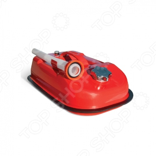 Канистра Autoprofi KAN-500 емкость для хранения бензина, масла и прочих жидкостей для заправки автомобиля. Изготовлена из оцинкованной стали, обладающей повышенными антикоррозийными свойствами. В верхнюю часть канистры встроен регулировочный клапан, который выравнивает давление воздуха внутри емкости с атмосферным, ускоряя процесс заливки и опорожнения. К канистре прилагается длинная гофрированная трубка-лейка.