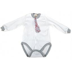 фото Боди для новорожденных с галстуком Ёмаё 24-05. Размер: 40