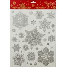 фото Пленка декоративная для окна Феникс-Презент 31488 «Снежинки 3»
