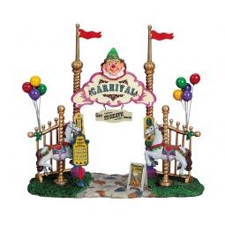 фото Фигурка керамическая Lemax «Вход в парк развлечений»