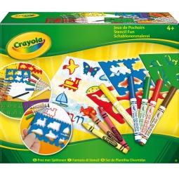 Купить Набор трафаретов Crayola «Jeux de Pochoirs»