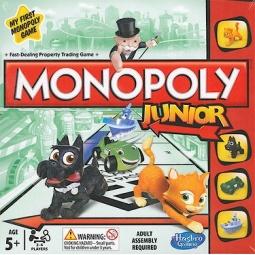 Купить Игра настольная Hasbro «Моя первая монополия»