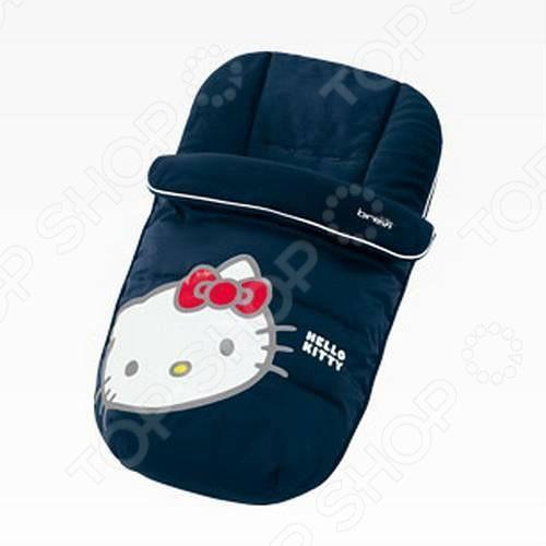 brevi манеж soft & play my little bear brevi бежевый мишка Конверт для сна утепленный Brevi Hello Kitty