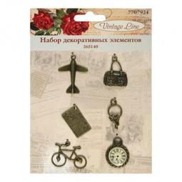 фото Набор декоративных элементов для вышивки Vintage Line 265140