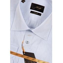 фото Рубашка Mondigo 580007. Цвет: голубой. Размер одежды: XXL