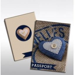 фото Обложка для паспорта Феникс-Презент «Сердце»