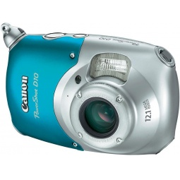 фото Фотокамера цифровая Canon PowerShot D10