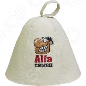 Шапка для бани и сауны Банные штучки «Alfa самец»