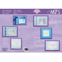 Купить Набор схем для парчмента Pergamano M75 Снеговик