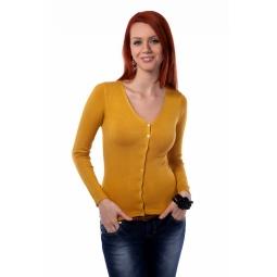 фото Жакет Mondigo 9130. Цвет: горчичный. Размер одежды: 42