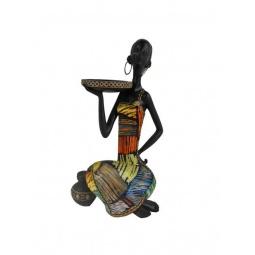 фото Фигурка Феникс-Презент «Африканка с подносом на плече»