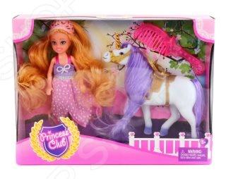 Кукла с аксессуарами Shantou Gepai и лошадкой Princess Club KW20914