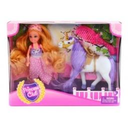 Купить Кукла с аксессуарами Shantou Gepai и лошадкой Princess Club KW20914