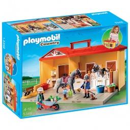 фото Конструктор игровой Playmobil «Возьми с собой: Конюшня»