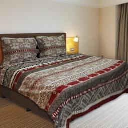 фото Комплект постельного белья Amore Mio Cage BE. Naturel. 1,5-спальный