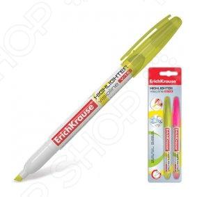 Набор маркеров-текстовыделителей Erich Krause V-15: 2 цвета
