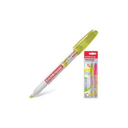 Купить Набор маркеров-текстовыделителей Erich Krause V-15: 2 цвета