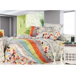 фото Комплект постельного белья Tiffany's Secret «Осенний блюз». 2-спальный. Размер наволочки: 50х70 см — 2 шт