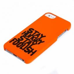 фото Чехол и пленка на экран Muvit S.H.S.F для iPhone 5. Цвет: оранжевый