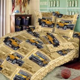 Купить Комплект постельного белья ТексДизайн «Сафари». 1,5-спальный