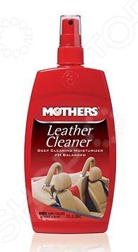 Очиститель кожи Mothers MS06412 Leather CleanerОчистители для автомобилей и комплектующих<br>Очиститель кожи Mothers MS06412 Leather Cleaner представляет собой эффективное средство для очистки кожаного салона автомобиля. Его активные компоненты быстро растворяют пыль и грязь, придавая обработанным поверхностям свежий вид и эластичность. Помимо этого, очиститель также защищает кожаную обивку от негативного воздействия солнечных лучей. Спрей имеет нейтральный рН и также подходит для очистки кожаных сумок, портфелей, обуви, чемоданов, мебели и т.д.<br>