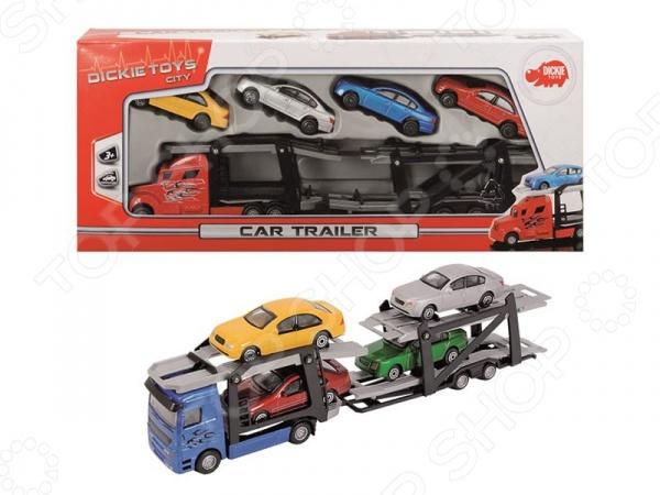 Набор машинок игрушечных Dickie 3745000 игровые наборы dickie игровой набор аэропорт