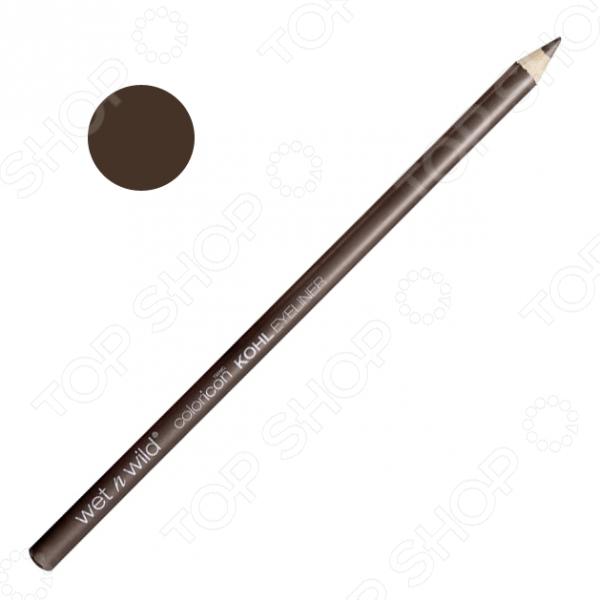 Карандаш для контура глаз Wet n Wild Color Icon Kohl Liner Pencil E602A Pretty In Mink. Тон: норкаДекоративная косметика<br>Карандаш для контура глаз Wet n Wild Color Icon Kohl Liner Pencil E602A Pretty In Mink станет отличным дополнением к набору декоративной косметики и прекрасно подойдет для макияжа глаз. Использование кайала позволяет придать взгляду еще большей выразительности и загадочности. Карандаш отличается стойкостью, насыщенностью цвета и хорошей пигментацией. Он легко наносится, хорошо растушевывается и не размазывается.<br>