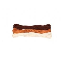 фото Набор ниток вышивальных для волос куклы Tilda 304625. В ассортименте