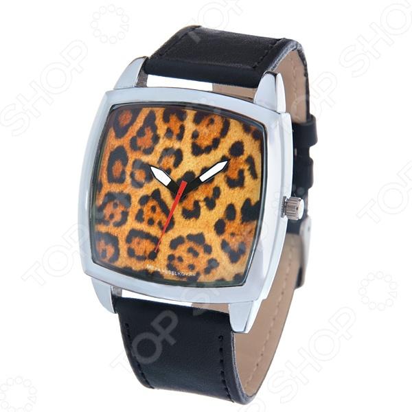 Часы наручные Mitya Veselkov «Леопардовый принт» CH